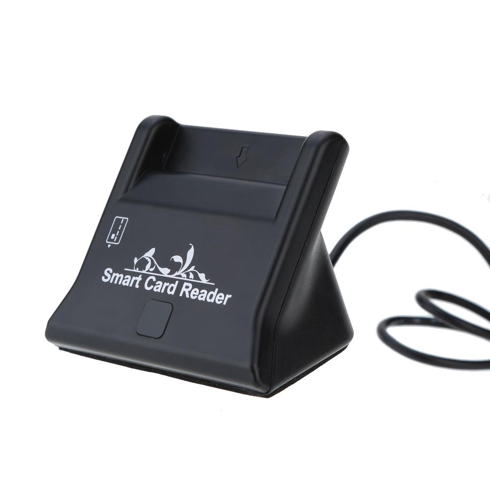 Usb Smart Card Reader Black One Size Kilimall Kenya Flashdisk Atm Image