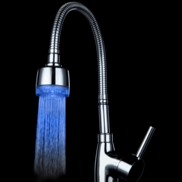 Kilimall: Glow Temperature Sensor LED Water Stream Faucet Tap 3 ...