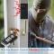 Wireless Remote Control Vibration Alarm Home House Security Door Window Car Sensor Detector black one size