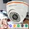 KKmoon CCTV 720P IR LED Indoor ONVIF Security IP Dome Camera white 3.6 * 3.6 * 3.4in