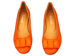 Avernyuan Bow Doll Shoes 38 Orange