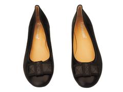 Avernyuan Bow Doll Shoes 41 Black