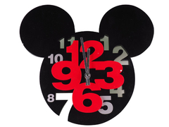 Fancy children 3D wall clock