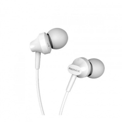 Remax In-Ear Stereo Earphones/Headsets for iPhone/Android Mobile Phone iPad/Tablet White