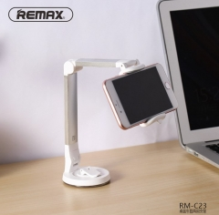 Remax Universal Mobile Phone Holder Mount Bracket Stand For Desk Bed Flexible Desk Car Wall gold 16CM