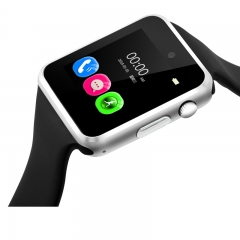 A1 Smart Watch Phone With GSM GPRS Pedometer Tourchscreen Bluetooth Wristwatch for Android IOS Phone red 5cm*3cm