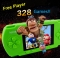 Handheld Children Student GamePad Player 4.3 inch Colorful Display Game Console