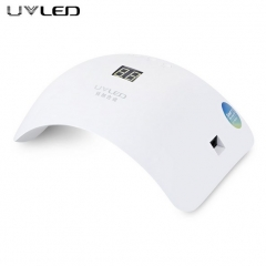 UVLED 48W Dual LED Nail Lamp Nail Dryer Gel Polish Curing Light Manicure Machine Nail Art Tools white