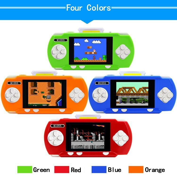 Handheld Children Student GamePad Player 4.3 inch Colorful Display Game Console 13