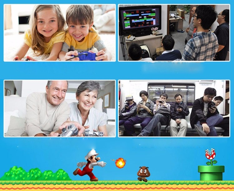 Handheld Children Student GamePad Player 4.3 inch Colorful Display Game Console 10