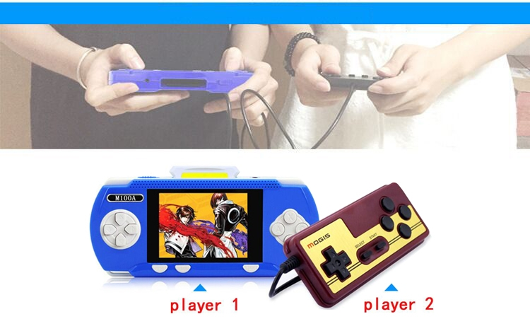 Handheld Children Student GamePad Player 4.3 inch Colorful Display Game Console 12