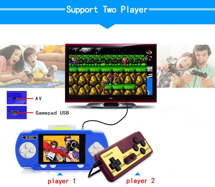 Handheld Children Student GamePad Player 4.3 inch Colorful Display Game Console 11