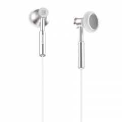 Remax Metal 3.5mm In-ear Smart Phone Earphone Headphone Headset With Microphone white