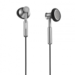 Remax Metal 3.5mm In-ear Smart Phone Earphone Headphone Headset With Microphone silver