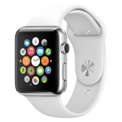 Smart Watch Phone Pedometer Bluetooth GSM Watch Support Android/iPhone white One Size