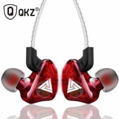 Super Bass Sport Earphones Stereo Running Headset DJ HiFi red