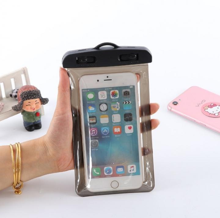 iPhone Android Phone Waterproof Bags Convenient Outdoor Sport black 10cm*6cm