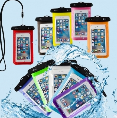 Universal Waterproof Pouch Smart Phones Portable Bag Convenient Outdoor Sport For All Phones black 10cm*6cm