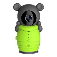 WiFi IP Network Camera Wireless Remote Kids Baby Monitor P2P Night Vision Intercom Green 10cm