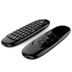2.4GHz Air Mouse Wireless Keyboard Handheld Play Game Remote Control Smart TV BOX PC black 15