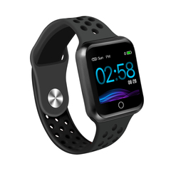 Smart Band Heart Rate Monitor Bracelet Blood Pressure Fitness Tracker Sport Smart Watch All Black One Size