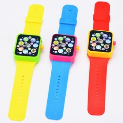 Baby Children Kids Educational Smart Watch Early Learning 3DTouch Screen Music Toy any color