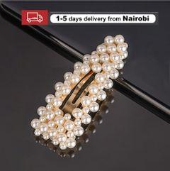 Women Hair Clips Hair Accessories Cute Pearls 2020 Ins Fashon Sweet Headwear Headband 1 One Size