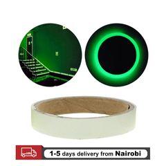 Home Decor Fluorescent Tape 1.5cm*3m Luminous Night Self-adhesive Glow Tape Security Warning Tape Green Ligh