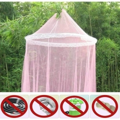 Hanging Canopy For a Princess Travel Mosquito Net Curtains For Canopy Beds  Canopy Bednet pink 259cmx900cmx60cm