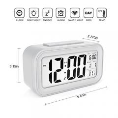 Digital Clock Morning Clock Low Light Sensor Technology Light On Backlight