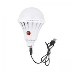 DC5-6V USB LED Powered Bulb Emergency Light for Home, Emergency, Camping-White White-9W Normal Normal