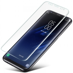 For Samsung S8 / S8 Plus Full Screen 3D Curved Tempered Glass Screen Protector transparent S8