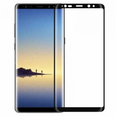 3D Curved Full Screen Tempered Glass Screen Protector for Samsung Galaxy Note8 black note8