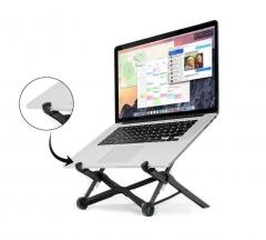 NEXSTAND® K2 360°Adjustable Foldable Portable Laptopstand Notebook Ergonomic Desk Table Stand black onesize