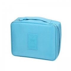 Multi-function Travel Storage Bag Portable Stylish and Simple Design Durable Substantial Anti-water blue as picture