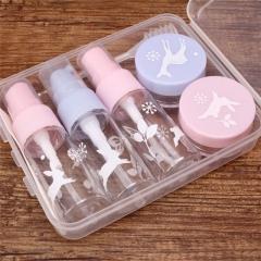 Cosmetics Split Bottle Set As picture
