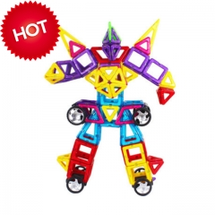 Mingta magnetic building blocks   MT2020   improve baby's ability from all aspects colorful 43cm