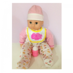 Realistic Doll Reborn Collectible Bebe Dolls  above 5 years pink normal