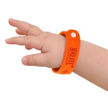 Runben The plant essential oil drive midge bracelets 3 pcs multi-color one size