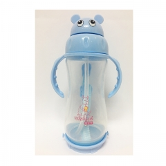 Wishful summer drinking kettle with handle strap blue 350ml