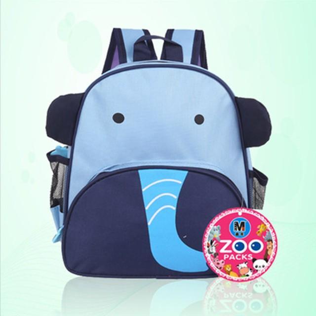 Children animal school bag elephant