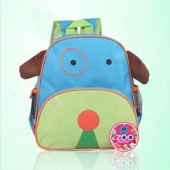 Children animal school bag dog