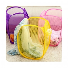 Fabric Laundry Basket Storage  For Toy Washing Basket Dirty Clothes Sundries Basket Box Foldable color send at random 31*51