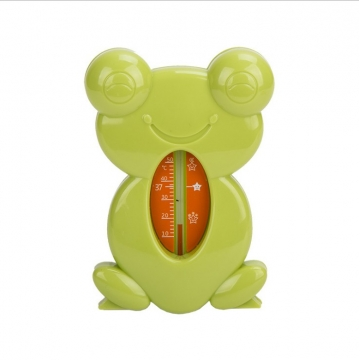 Frog Cartoon Water Thermometer BABY Bath Water Thermometer green one size