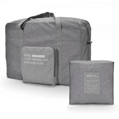 Large Capicity Multifunctional Creative Folding Travel Storage Bag Grey