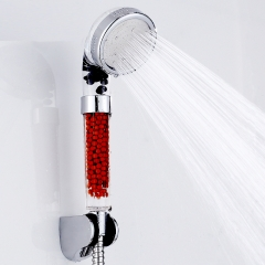 Water Saving Shower Head Anion SPA Filtration Handheld Nozzle transparent L