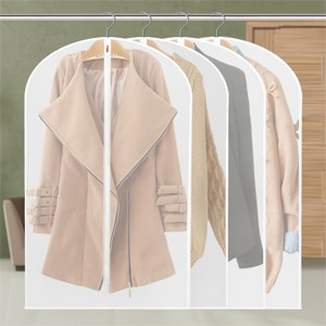 Translucent Washable Dustproof Cover Protector for Clothes large