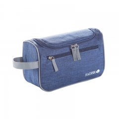 Travel Wash Bag Both Men and Women Waterproofing Portable Makeup Bag The Large Capacity Receive Bag deep blue