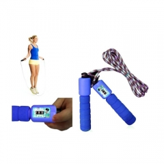 Skipping Rope With Digital Counter - blue 3 m