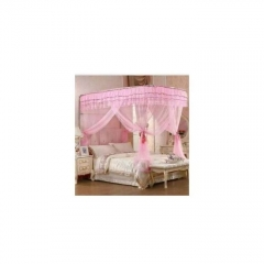 Mosquito Net With 2 Stands pink 4*6